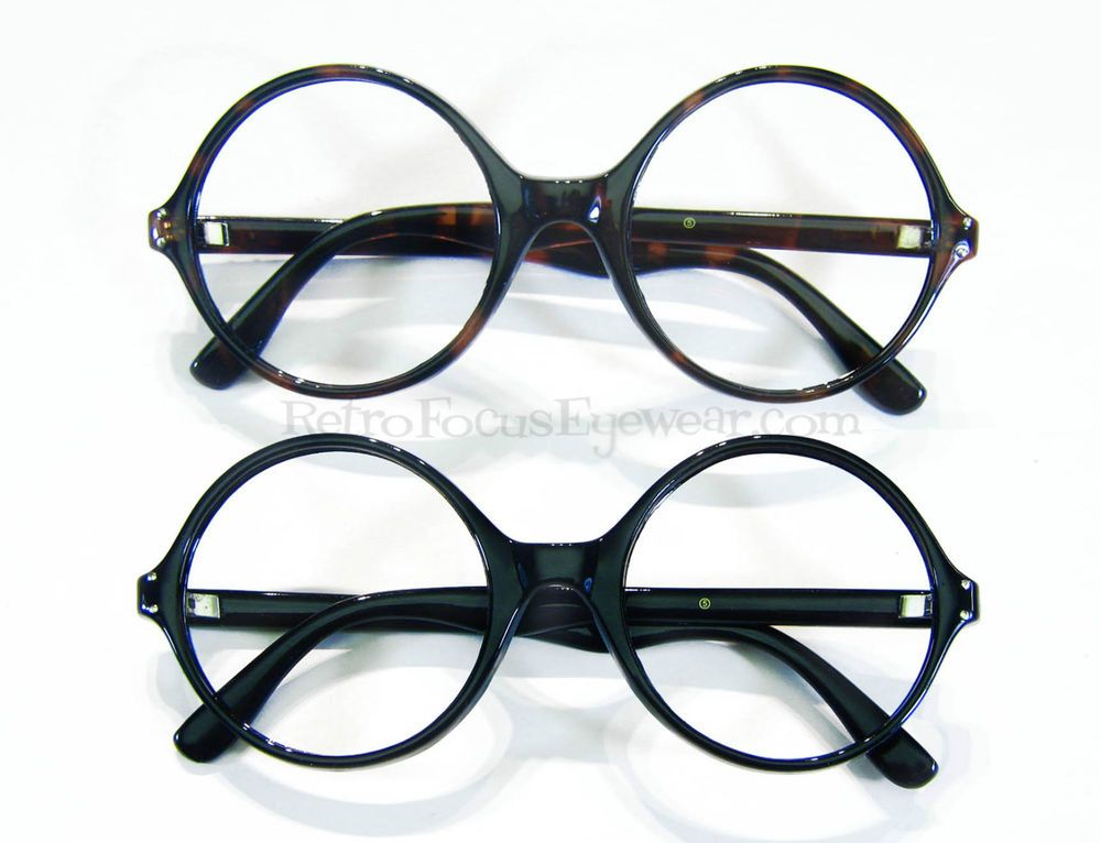 oversized large round eyeglass frames wide frame eyeglasses tortoise black
