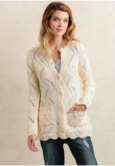 Ideal for layering over a feminine  ensemble for a darling put-together look!