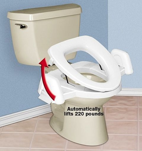 Elderly Toilet Seat Riser InstallToiletLiftSeat Visit Us For More H