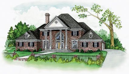 House Plans Home Plans And Floor Plans From Ultimate Plans Georgian Homes Luxury House Plans Diy House Plans