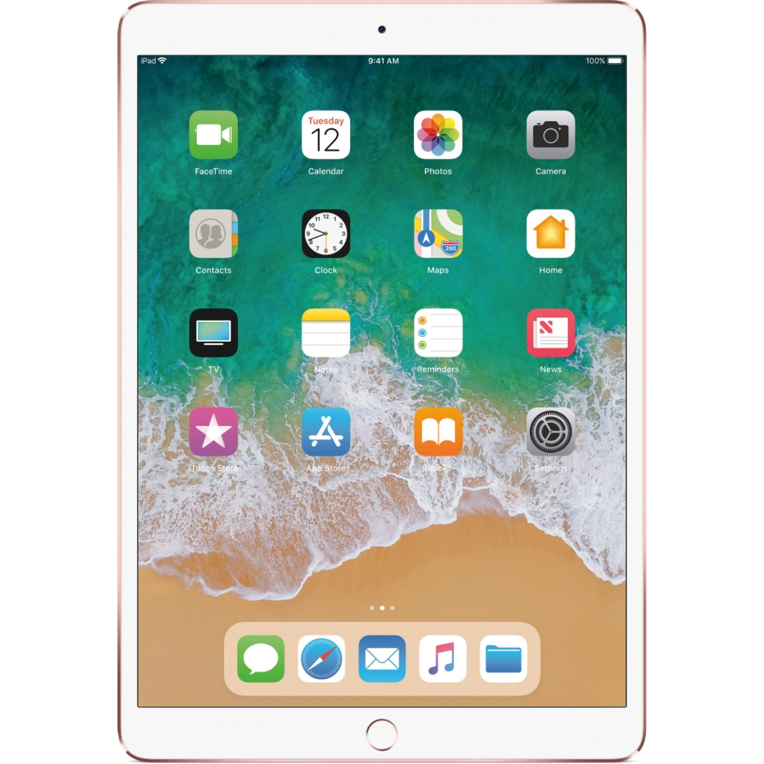 Ipad Pro 10 5 Inch 2nd Gen June 2017 512gb Rose Gold Wi Fi Refurbished In 2020 Ipad Pro Features Apple Ipad Pro Ipad