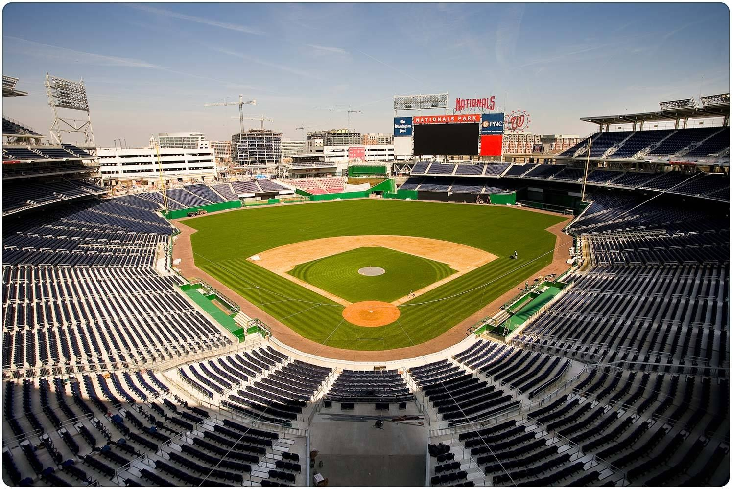 Top 10 Companies In Usa For Business Job Software And More Top 10 Largest Baseball Stadium In Usa Baseball Stadium Stadium Baseball