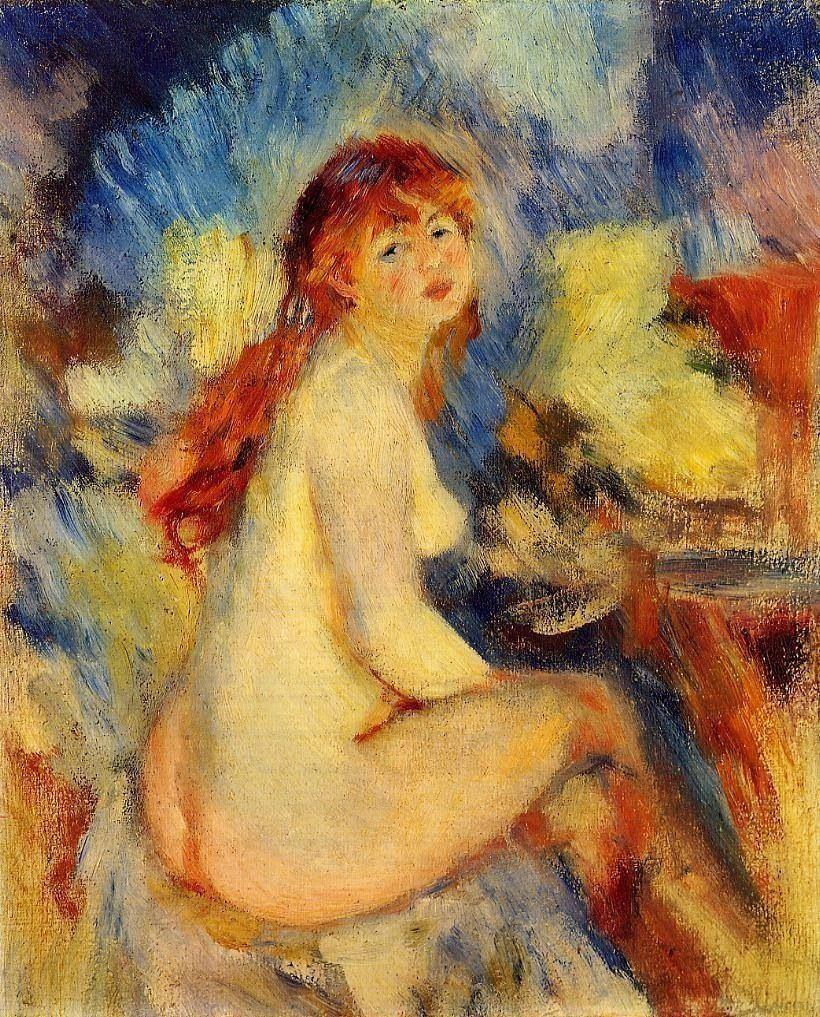 Can painting of a naked woman monet fill