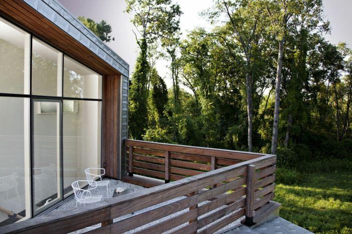 Terrassenmöbel modern  balkongestaltung modern schön außenbereich gestalten | Balkonmöbel ...