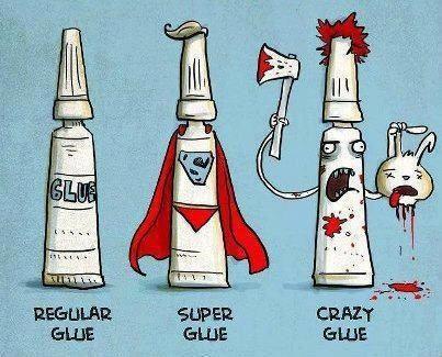 #Humour #Glue