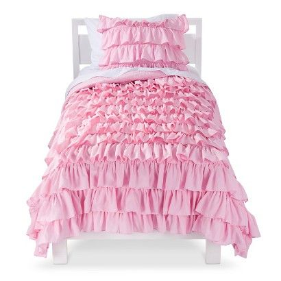 Zoey Quilt Set In 2020 Ruffle Quilt Shabby Chic Bedrooms Girl Room