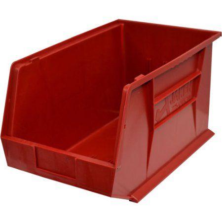 Stackable Bins, Red
