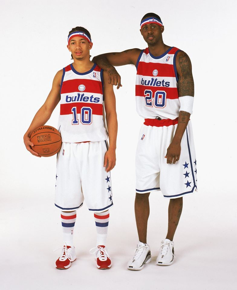 92de0557ac6669 NBA Hardwood Classics 2002-03, Tyronn Lue, Larry Hughes, Washington Wizards.