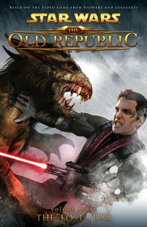 Star Wars The Old Republic Comics Volume 3 The Lost Suns