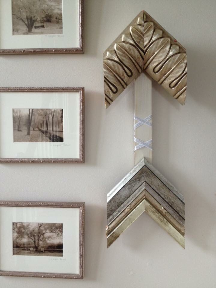 Arrows Created From Frame Corner Samples. Available For Purchase. Comment  On This Pin For