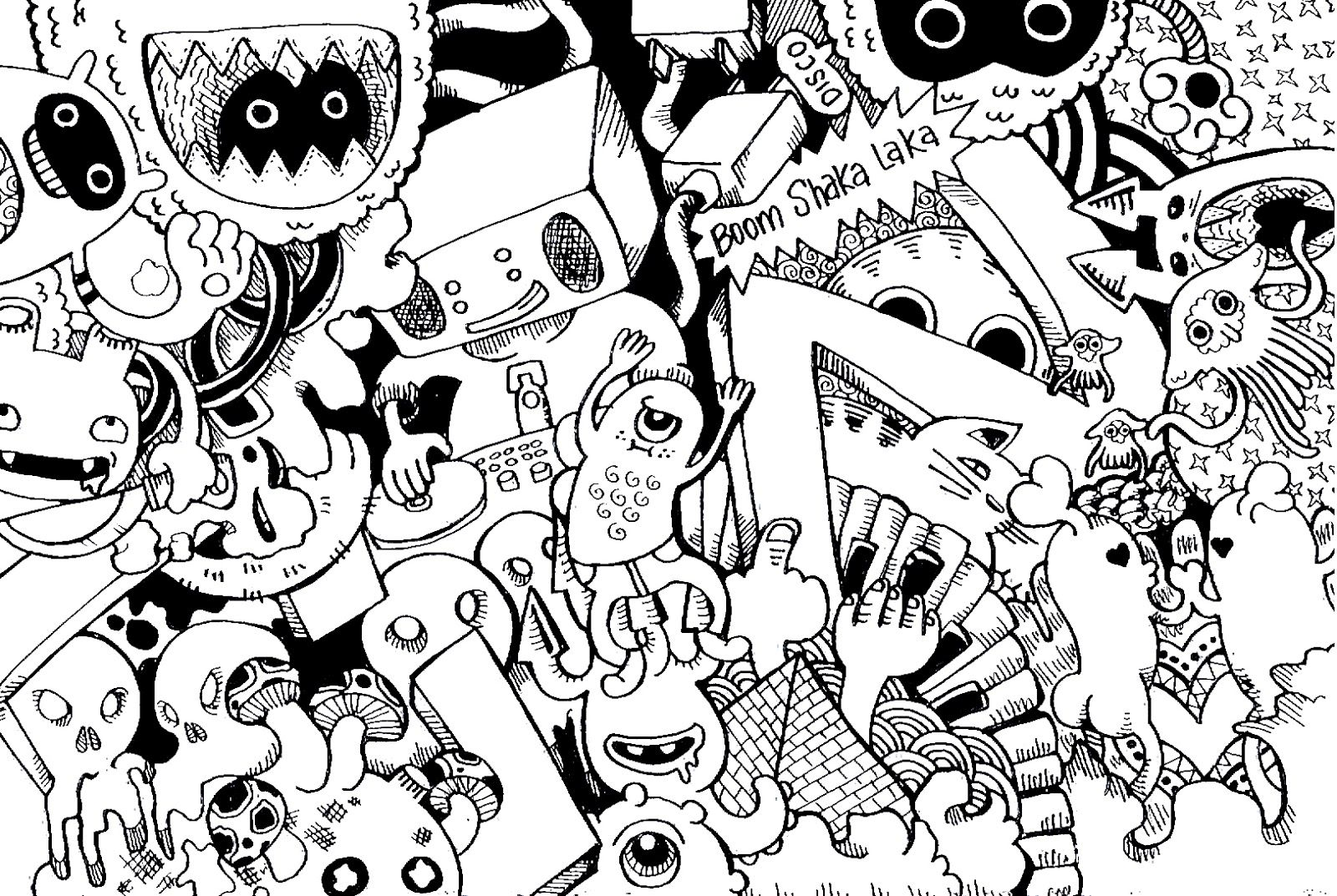 free doodle art coloring pages abstract coloring pages pinterest doodles and adult coloring