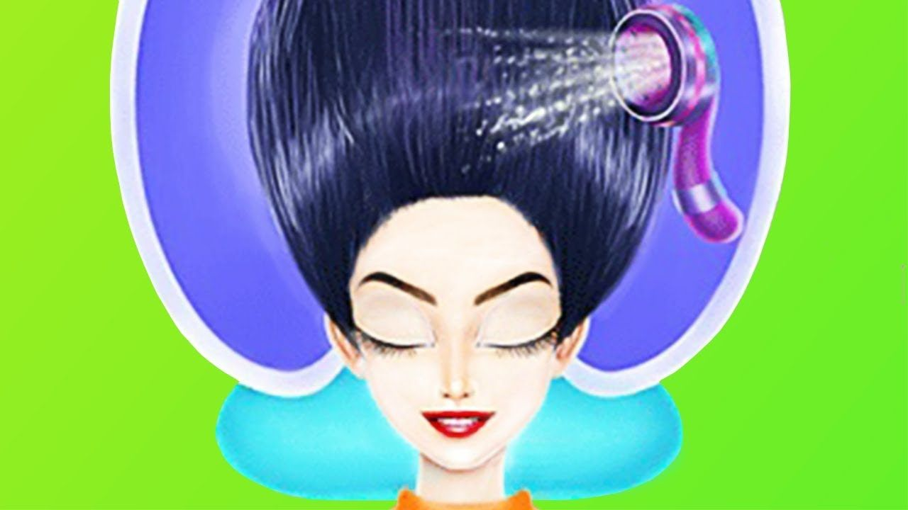 Braided Hair Salon Games For Girls To Play Makeup Spa Dress Up Hair Games For Girls Care Game