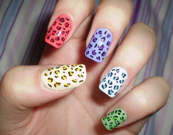 Simple Nail Art Designs for Beginners. LeopardprintLeopard Print ... - Simple Nail Art Designs For Beginners Spring, Messages And Nail