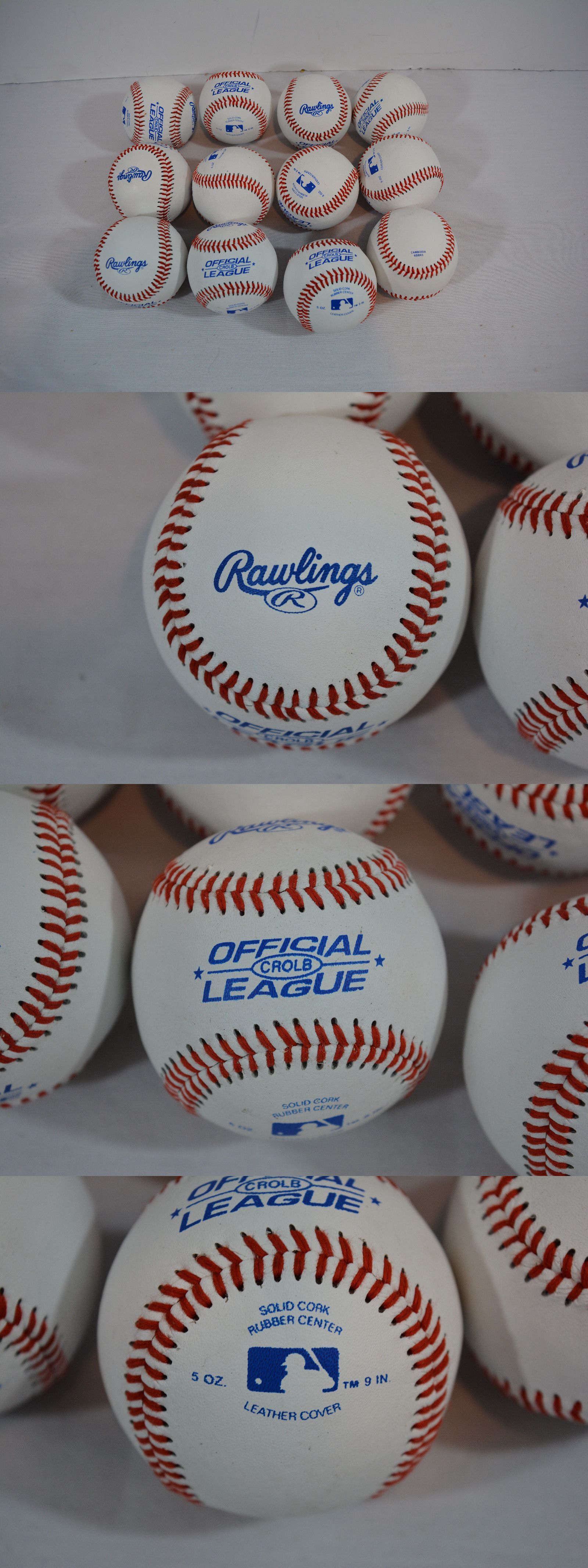 baccd2f1 Balls 181313: New Rawlings Official League Recreational Use Baseballs Pack  Of 12 -> BUY IT NOW ONLY: $16.95 on eBay!