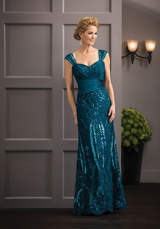 Jade Couture K188062 Green Mother Of The Bride Dress
