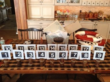 Nautical Table Numbers | Recycled Bride