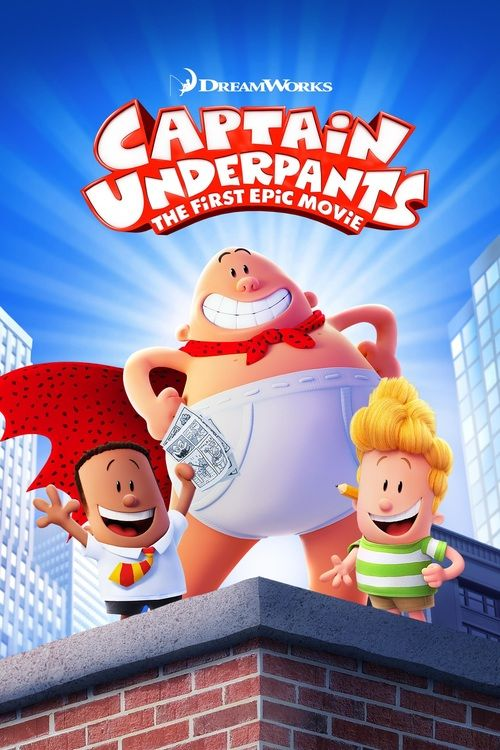 Watch Captain Underpants: The First Epic Movie (2017) Full Movie Online Free