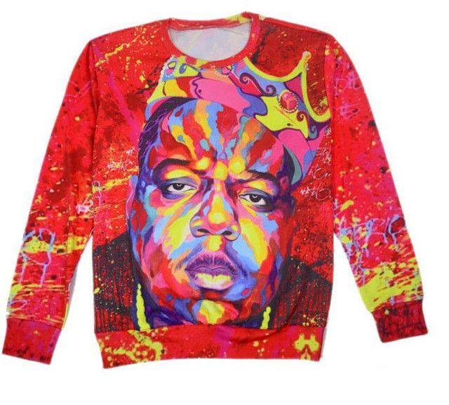 3D Tupac Shakur 2Pac sweatshirt men/women Harajuku hoodies