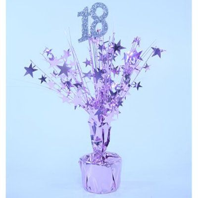18th Birthday party pink centrepiece Our Business Followers