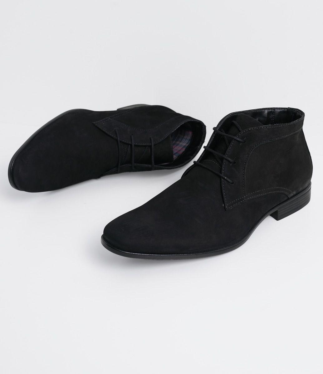 fc6878d604 Bota masculina Material: Camurça Biqueira diferenciada Marca: Satinato  Genuine COLEÇÃO INVERNO 2016 Veja mais opções de botas masculinas.