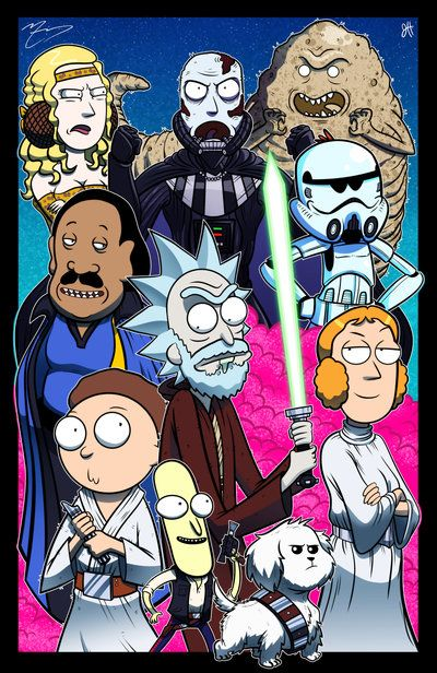 Use the FUUUOoorrce Morty - Collab w/ Mike Vasquez by JoeHoganArt on DeviantArt