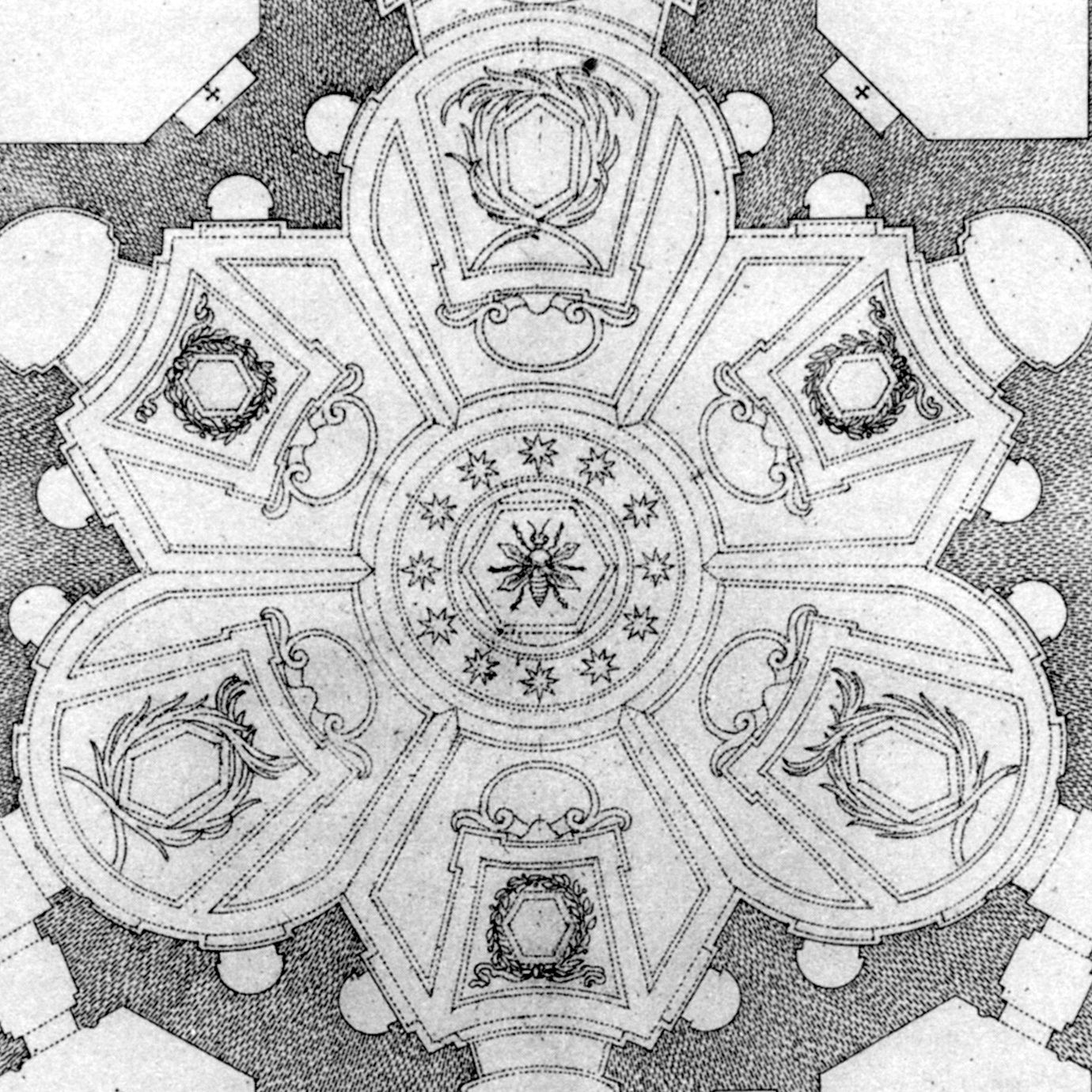imagini pentru borromini sant ivo alla sapienza barocco sebastiano giannini das borromini plan of sant ivo alla sapienza