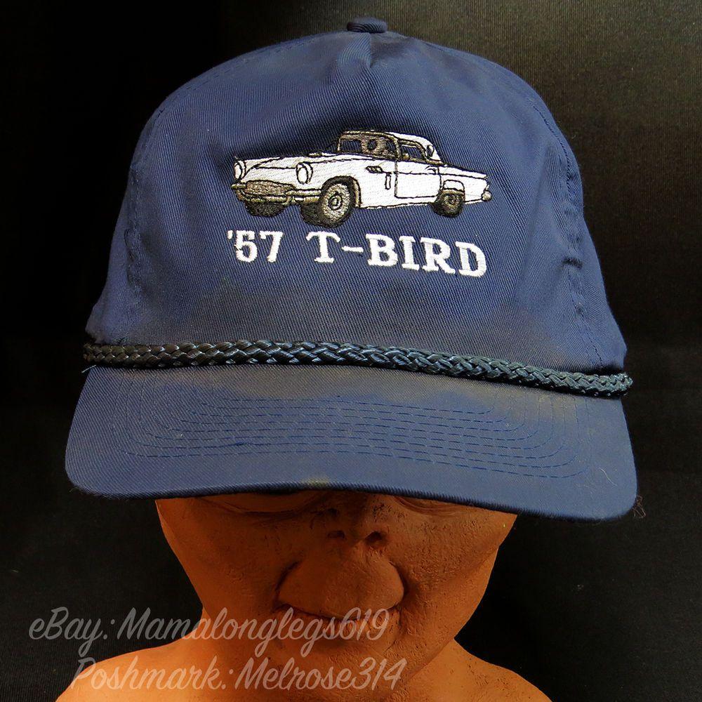 0535ef7767b Distressed Vintage 1957 T-Bird Snapback Hat Cap Sweat Stains Beat Up Worn  In  Palace  BaseballCap
