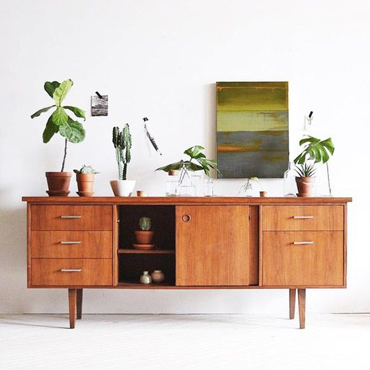 the beauty of credenzas. | sfgirlbybay
