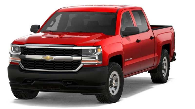 2018 Chevy Silverado 1500 Wt Red Work Truck With Special Offer