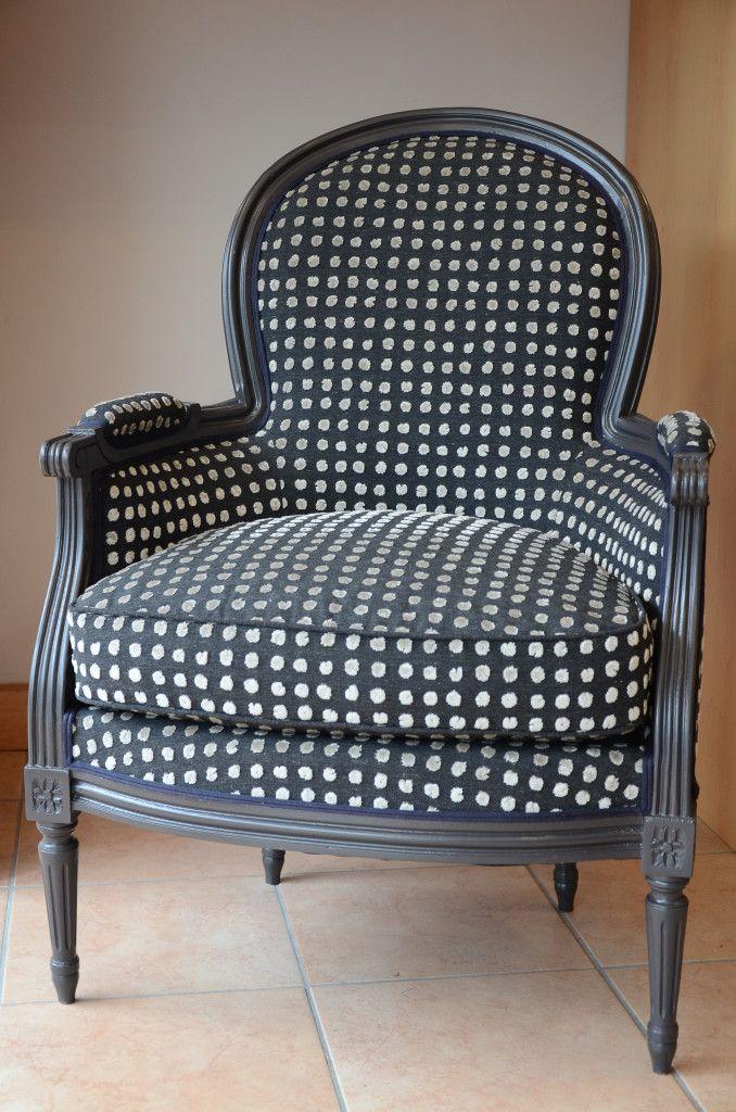 35 bergere louis xvi fauteuil art
