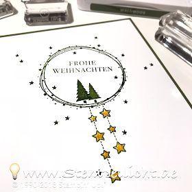 Stempellicht: Leuchtende Weihnachten - Weihnachten Daheim #weihnachtendekorationkinder