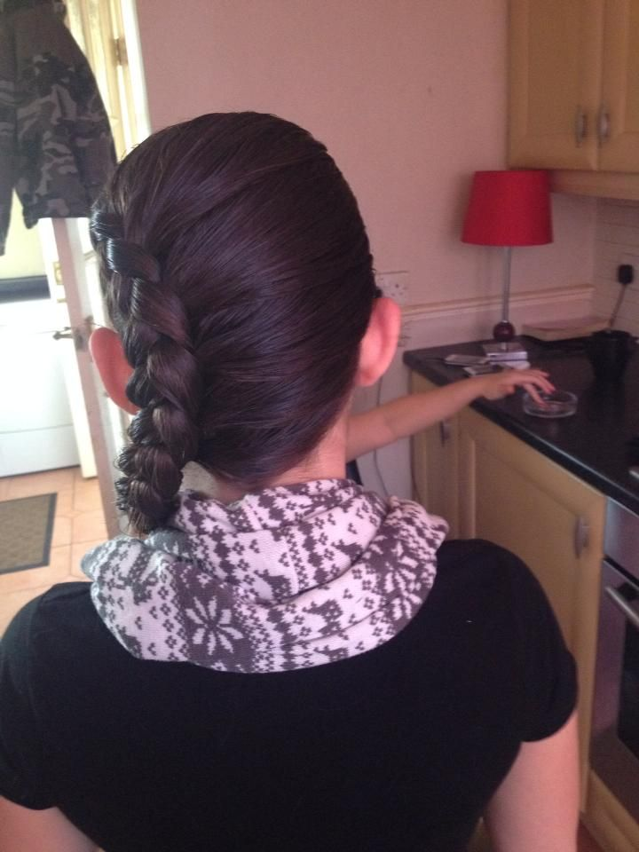by Sam Mayer   #sideplait #beautiful hair #talent #amazing #hairstylist #hairdressing #salonsdirect