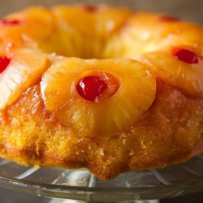 Pineapple Upside Down Cake Recipe Box Duncan Hines