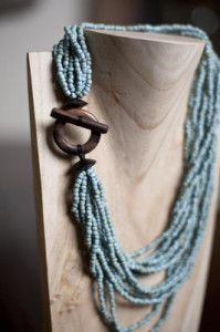 Wood Clasp Necklace