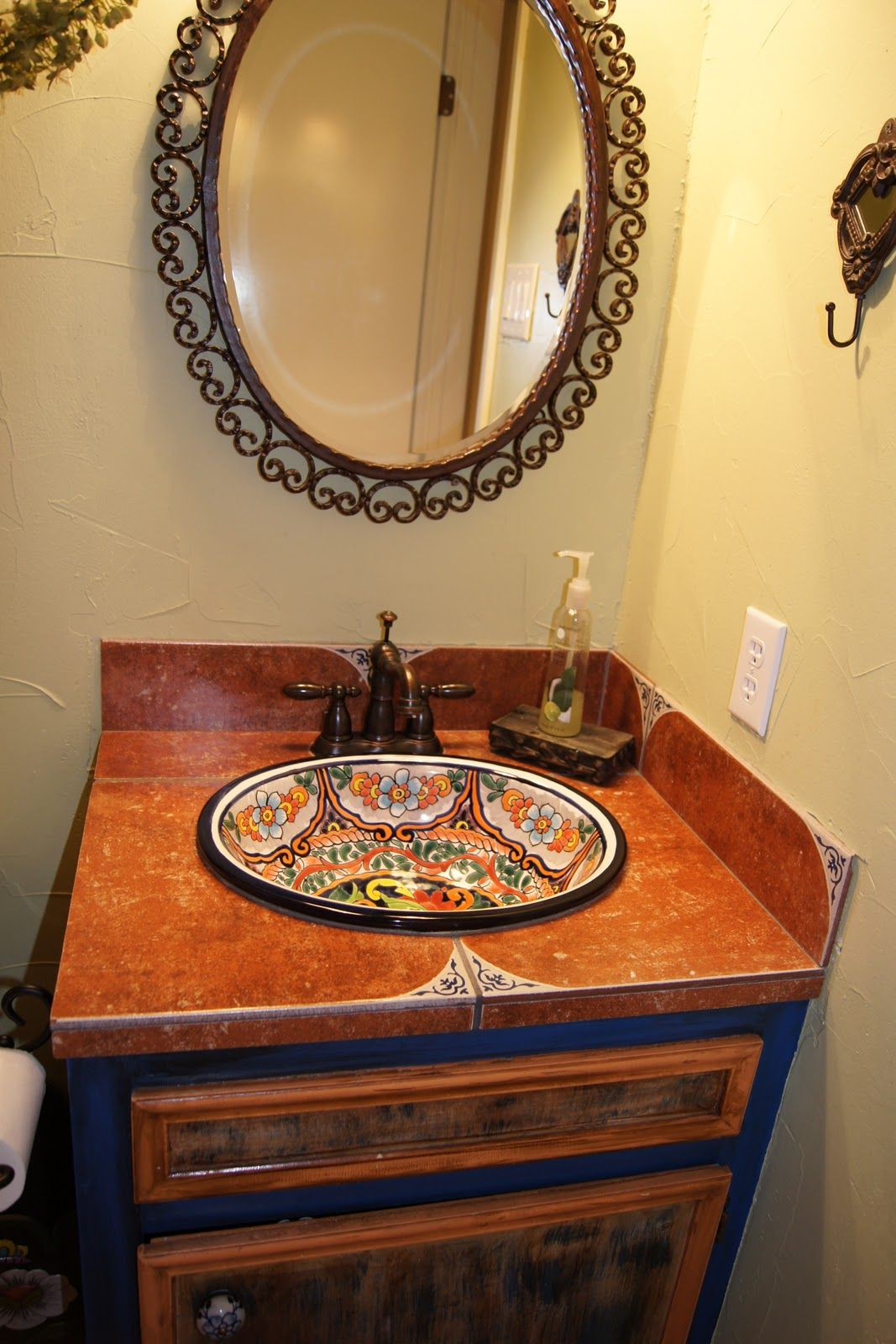 Mexican Sinks For Bathrooms Downstairs Bathroom Hand
