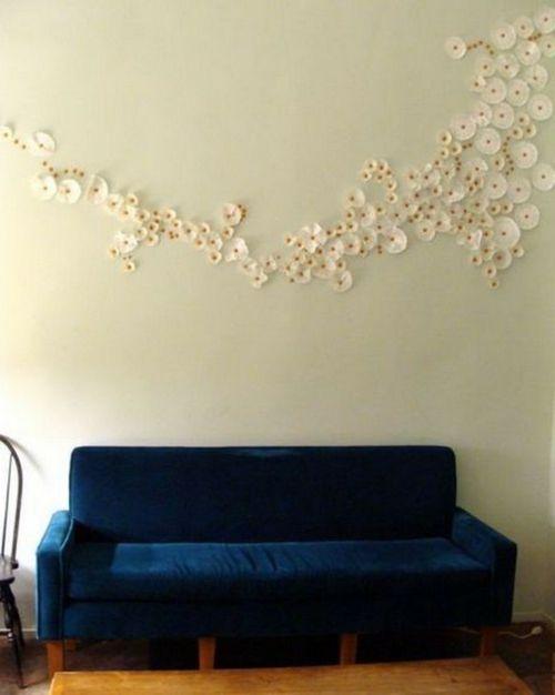 innovative wanddekoration selber machen diy wandkunst en 2018 deko pinterest. Black Bedroom Furniture Sets. Home Design Ideas