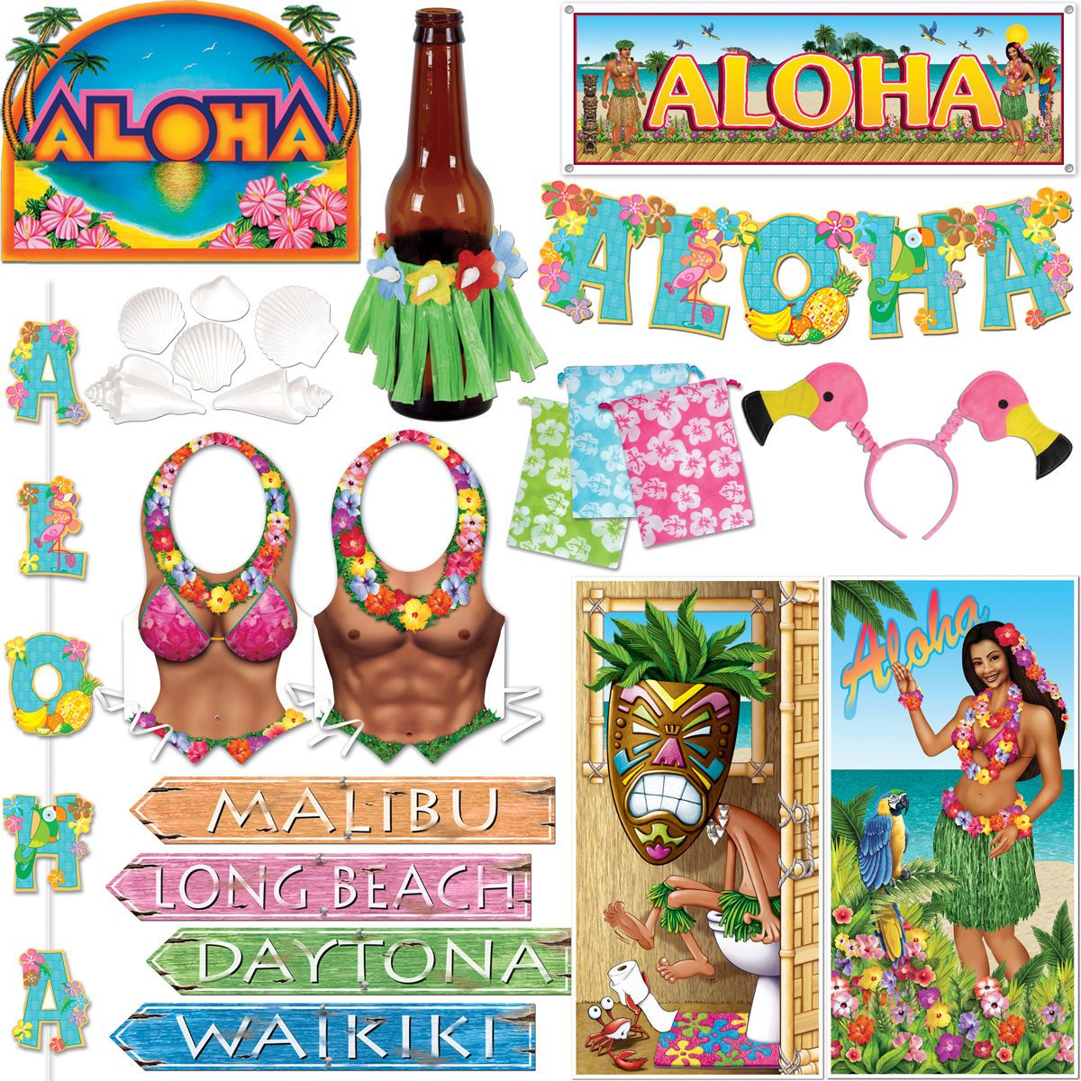 Dollhouse Miniatures In Las Vegas: Aloha Hawaii Deko