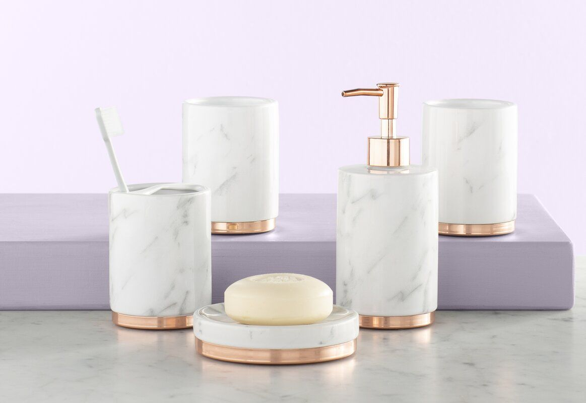 The Twillery Co. Jeb Bathroom Accessory Set & Reviews  Wayfair