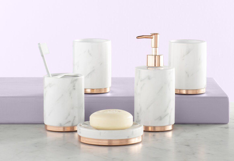 Jeb 5 Piece Bathroom Accessory Set Bathroom Accessories Sets