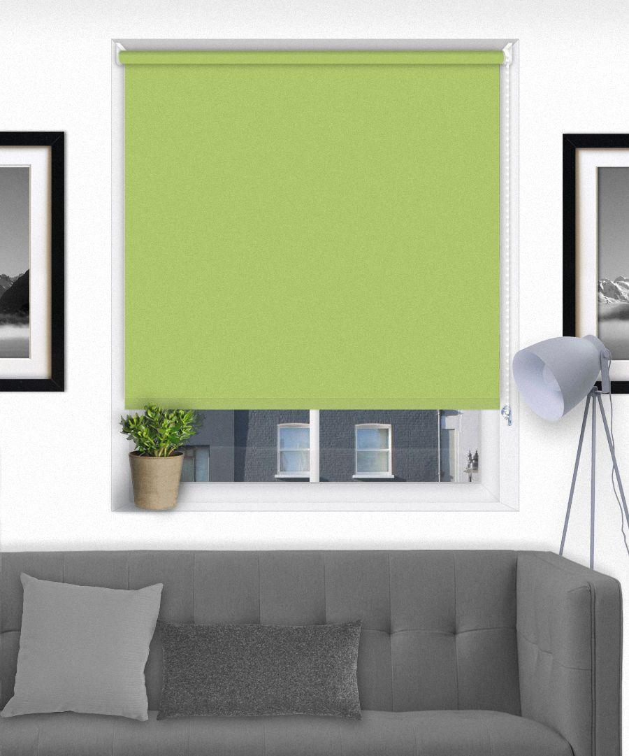 Green Blackout Thermal Roller Blind Roller blinds