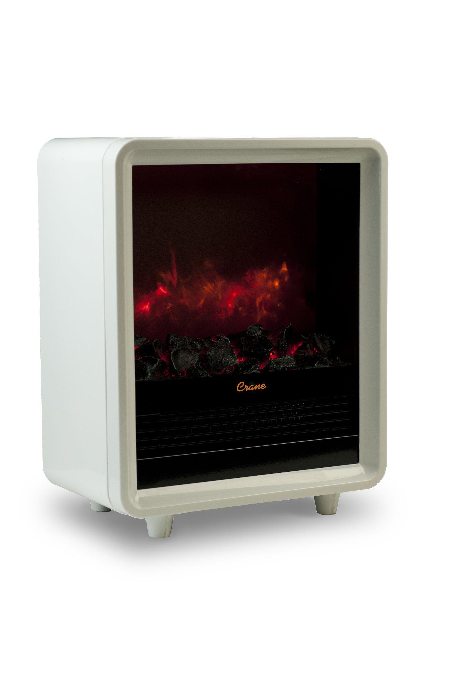 Crane Mini Fireplace Heater White Fireplace Heater Small