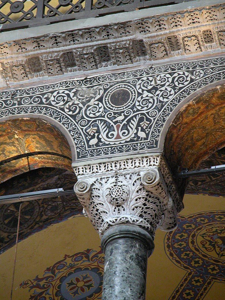 Sultanahmet   Larry Muffin At Home   Hagia Sophia Interior Columns