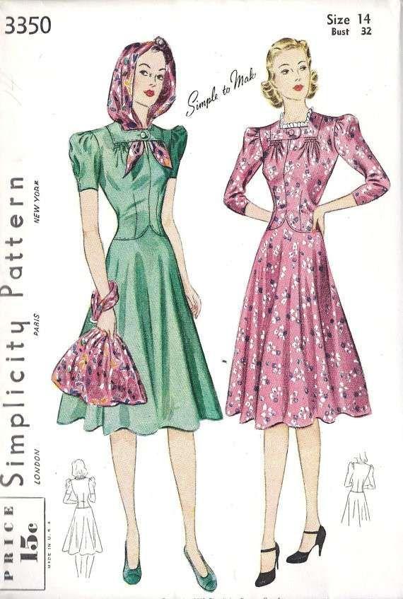 f1bd245e3b80 Cartamodelli abiti anni 50 fai da te - Abiti femminili