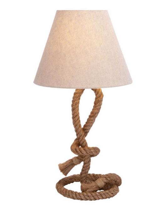Decor Look Alikes | Overstock Casa Cortes Nautical Rope Lamp