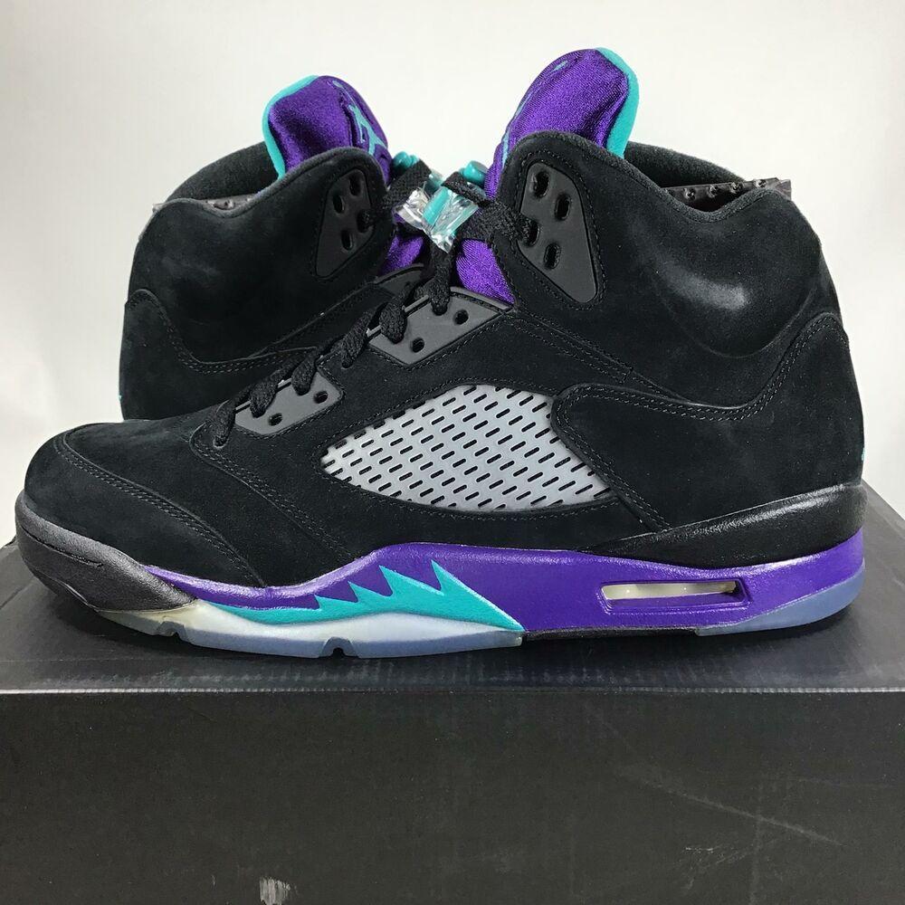 the best attitude 8f738 09449 eBay #Sponsored 2013 Air Jordan 5 Retro Black Grape ...