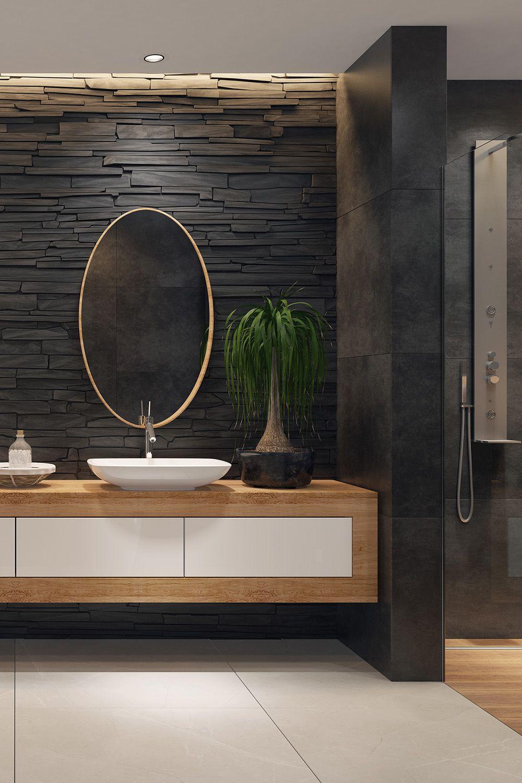 Modernes Bad 7 Ideen Fur Ein Schones Badezimmer In 2020 Schone Badezimmer Moderne Bader Badezimmer