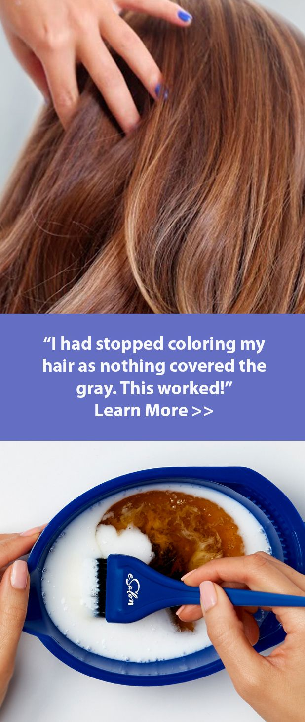 Simple Solution For Coloring Gray Hair I Love This It Has