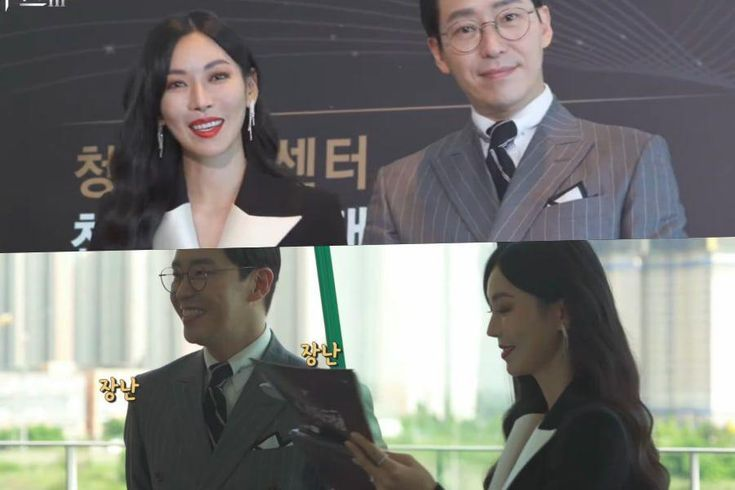 """Watch: Kim So Yeon And Uhm Ki Joon Are Warm And Cheerful Co-Stars On Set Of """"The Penthouse 3"""""""