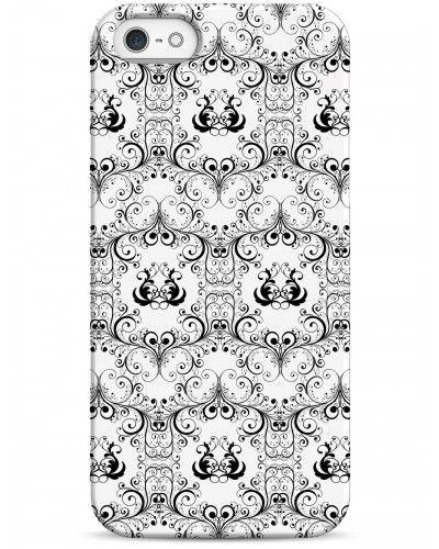 Утонченный узор - iPhone 5 / 5S / 5C Дизайнерские чехлы для iPhone