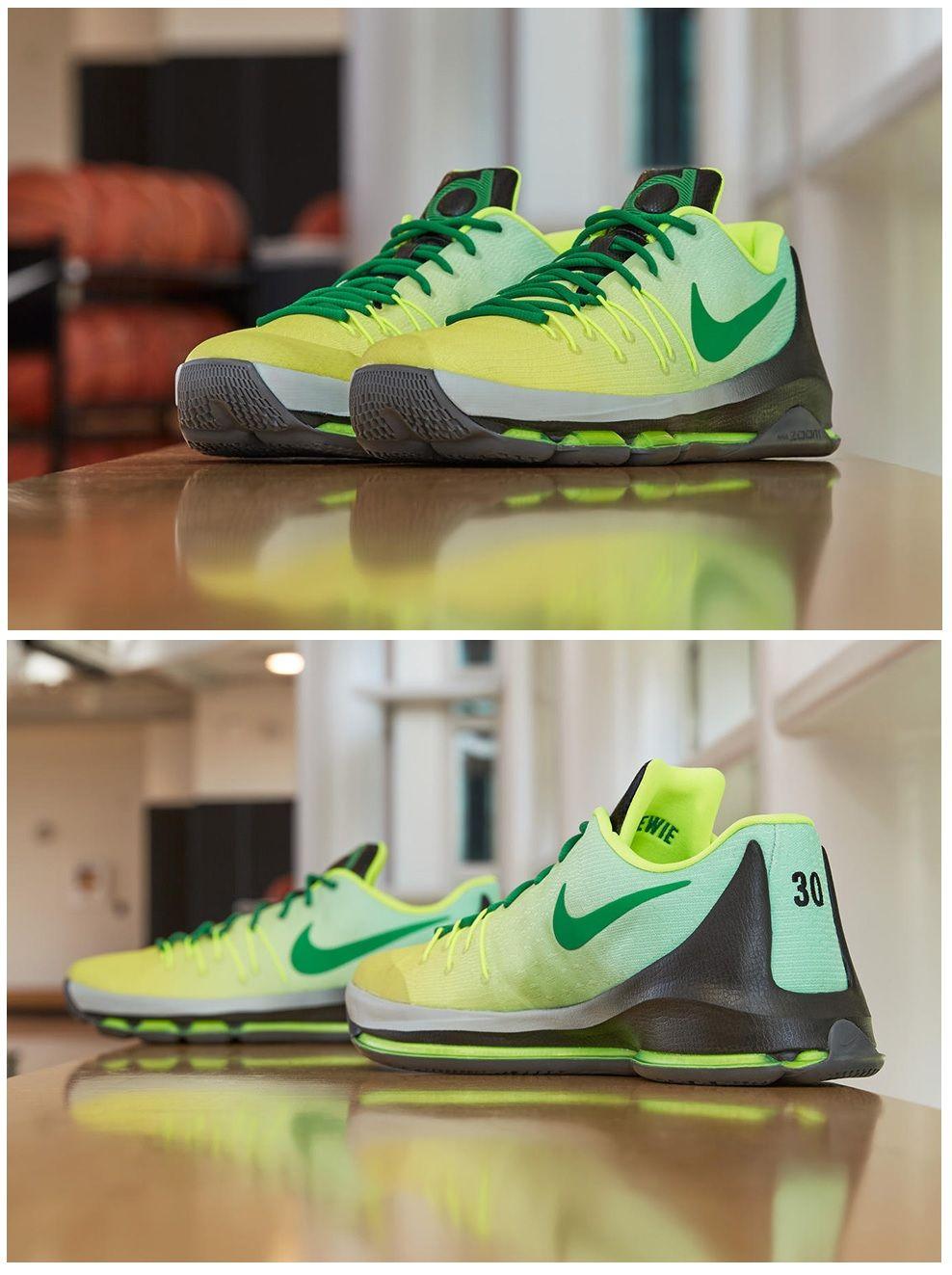 e7b7238c079c Nike KD 8 Seattle Storm PE for Breanna Stewart Nike Basketball Shoes